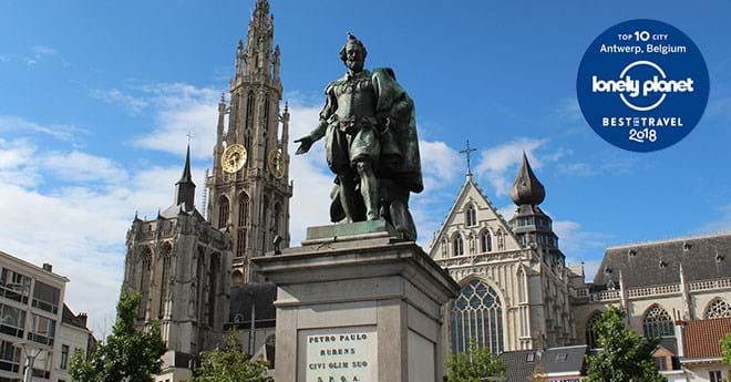 Antwerpen in de Lonely Planet top 10